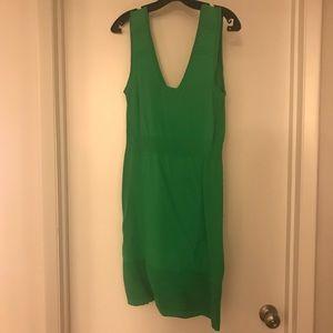 Kelly green dress